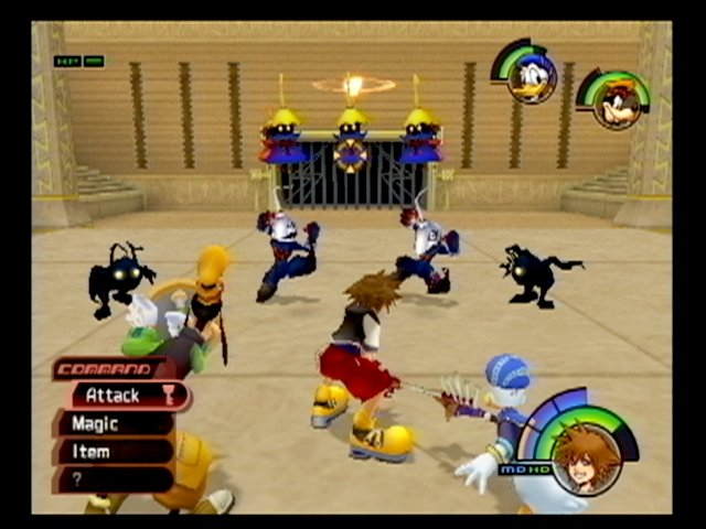 Kingdom Hearts Re: Chain of Memories video
