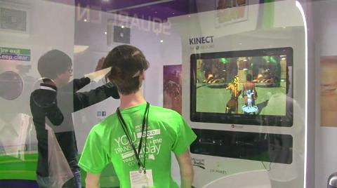 Kinect Star Wars video