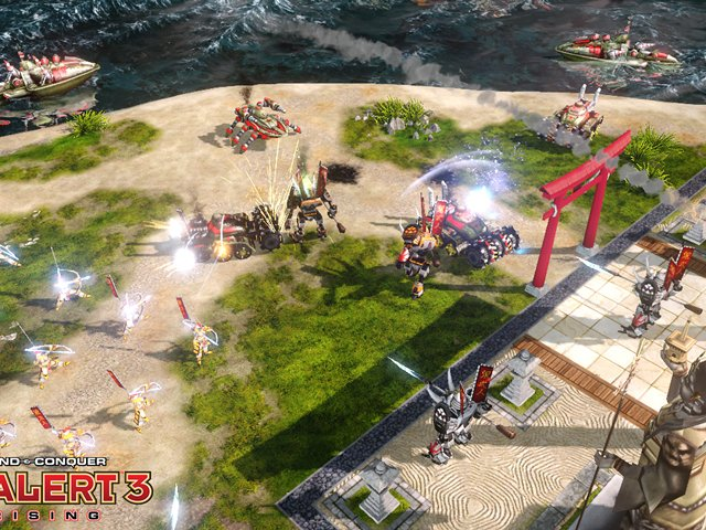 Command & Conquer Red Alert 3: Uprising video